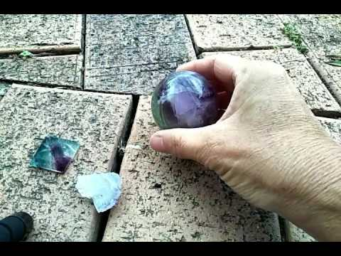 The magic of the crystal Fluorite