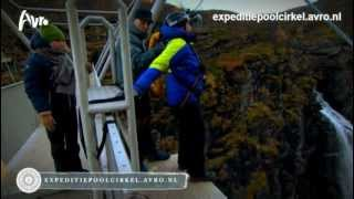 Expeditie Poolcirkel - Aflevering 3 - Bungeejump Frederik Brom