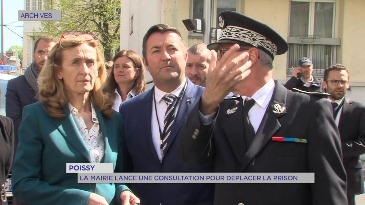 Yvelines | Poissy: La mairie lance une consultation pour déplacer la prison