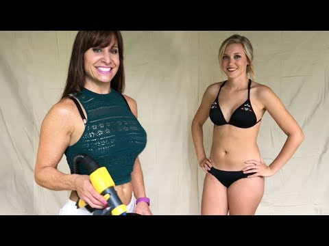 SPRAY TANNING INSTRUCTION! Awesome tanning and spray tan review.
