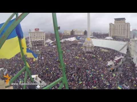 Евромайдан. Видео с