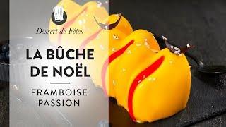 Recette facile : la Bûche de Noël Passion Framboise !