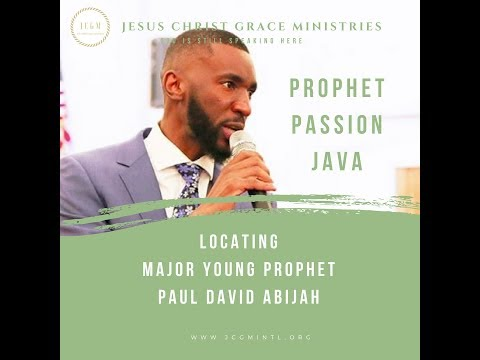 Prophet Passion Java Locating Major Young Prophet Despite His Absence - May 2018 | Pune, India
