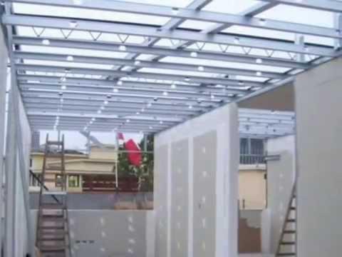 100 estructura drywall superboard o pladur baldosas lima for Como encielar un techo