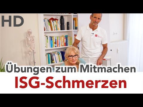 ISG-Syndrom // ISG-Schmerzen, Iliosakralgelenk Schmerzen