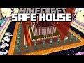 BUILDING THE SAFEST HOUSE IN MINECRAFT !! Minecraft Mods