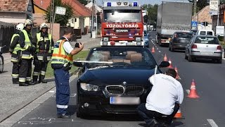 A BMW osztrák vezetője beszél a répcelaki kerékpáros-gázolásról
