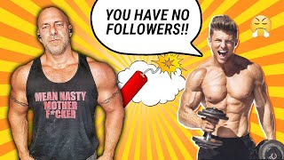 Steve Cook Throws Shade At Every Damn Day Fitness