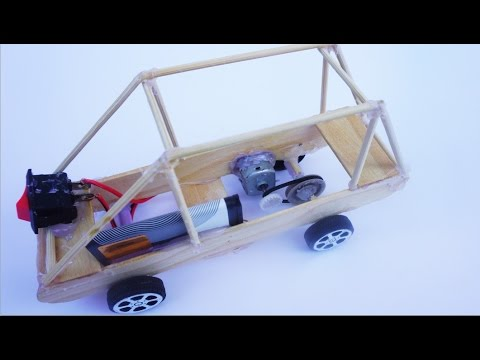 How to Make An Electric Toy Car DIY