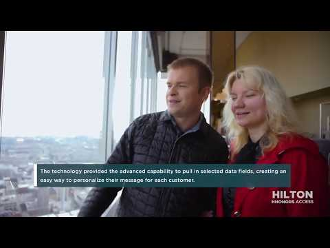 Hilton Worldwide   2017 People's Choice Awards Finalist
