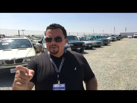San Diego Public Auto Auction- 905 Auto Auction