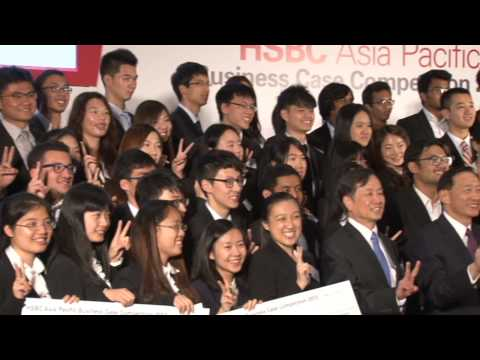 HSBC Asia Pacific Business Case Competition 2013 Highlight