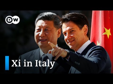 China's Xi and Italy's Conte sign New Silk Road agreement | DW News Mp3