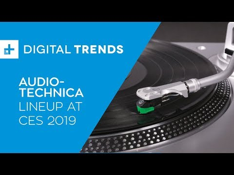Audio-Technica Lineup - Hands On at CES 2019