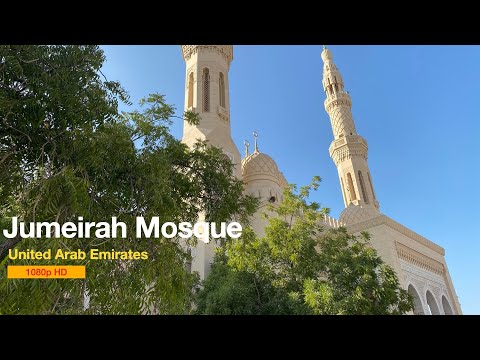 Jumeirah Mosque – DUBAI – Walk Toward Mosques 1080p HD beautiful mosques of the World #jumeirah