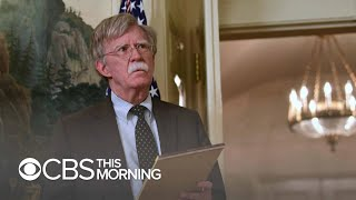 Bolton and Trump offer different versions of national security adviser's exit