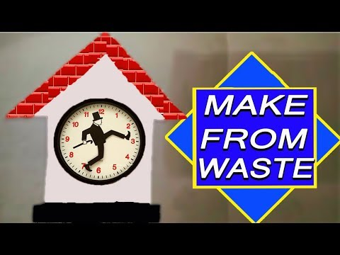 School Project Clock/ how to make clock / DIY/ Clock Model for Kids