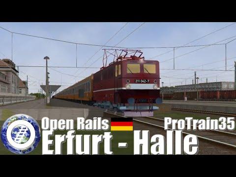 Open Rails (MSTS Compatible Train Sim) ProTrain 35 Erfurt