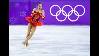 Figure skater Alina Zagitova wins Russia's first gold medal
