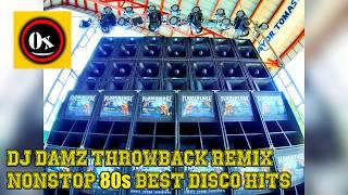 Gambar cover NONSTOP BEST 80's DISCO HITS PARTY REMIX  - DJ Damz Throwback(MASA) REMIX - Battle Mix 2019