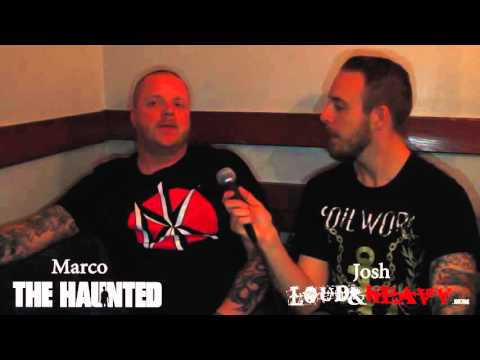 The Haunted Interview with Loud & Heavy @ Regency Ballroom-S