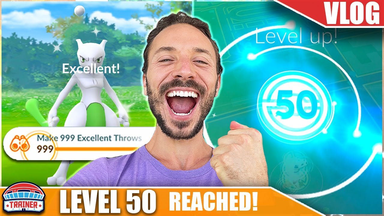 1,000 EXCELLENT THROWS in 13 HOURS! *LEVEL 50 in 1 DAY* - RANK UP to 50 FAST | Pokémon GO Vlog