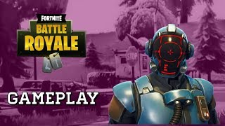*NEW* Blockbuster Skin (Visitor) Gameplay - Fortnite Battle Royale - AZA
