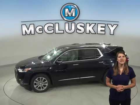 200653 - New,  2020, Chevrolet Traverse, Premier, Navigation, AWD, Test Drive, Review, For Sale -