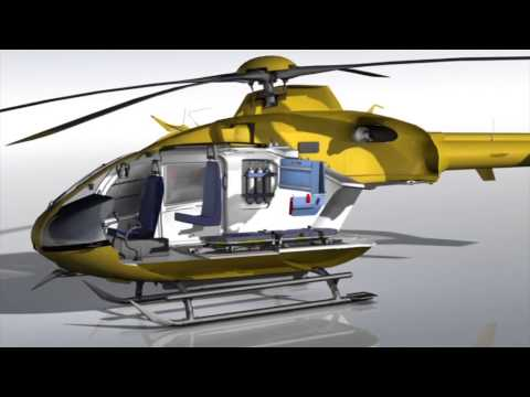 Bucher Group Emergency Medical System – EC135 Configuration