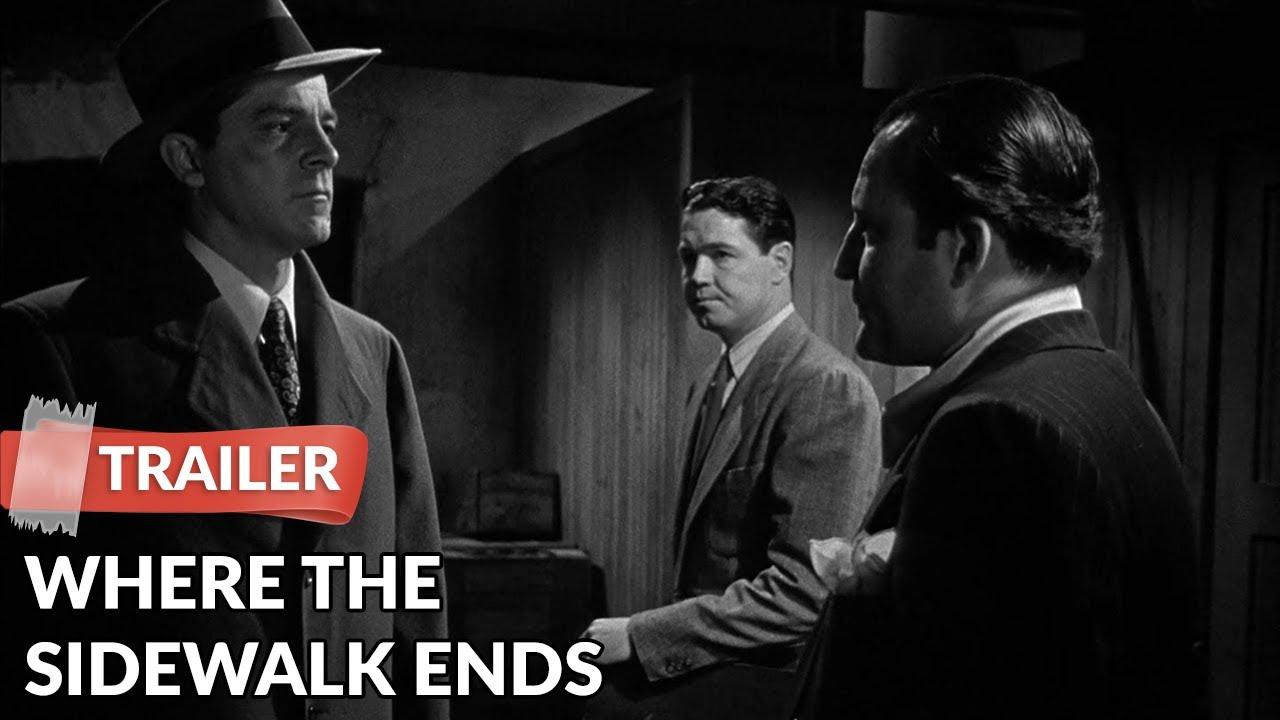 Download Where the Sidewalk Ends 1950 Trailer | Dana Andrews