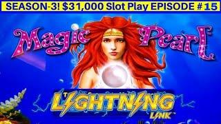 High Limit Lighting link Slot Machine Live Play & Lighting Link Feature | Season 3 | EPISODE 15