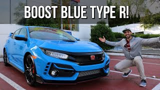 Taking Delivery of my 2020 Civic Type R in BOOST BLUE PEARL! | S3  EP9