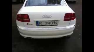 Audi A8 W12 Exhaust Sound Pure Brutality Düsenjet sound