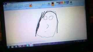 How To: Draw The Mona Lisa On PAINT!