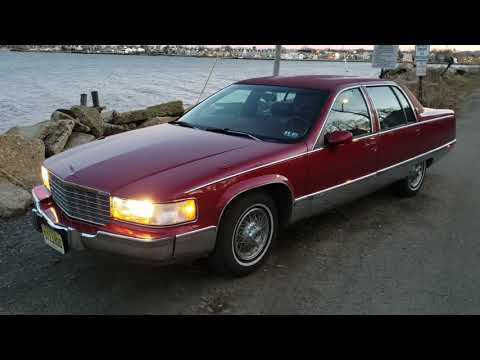 Walk Around And Drive Of My 1993 Cadillac Fleetwood Brougham