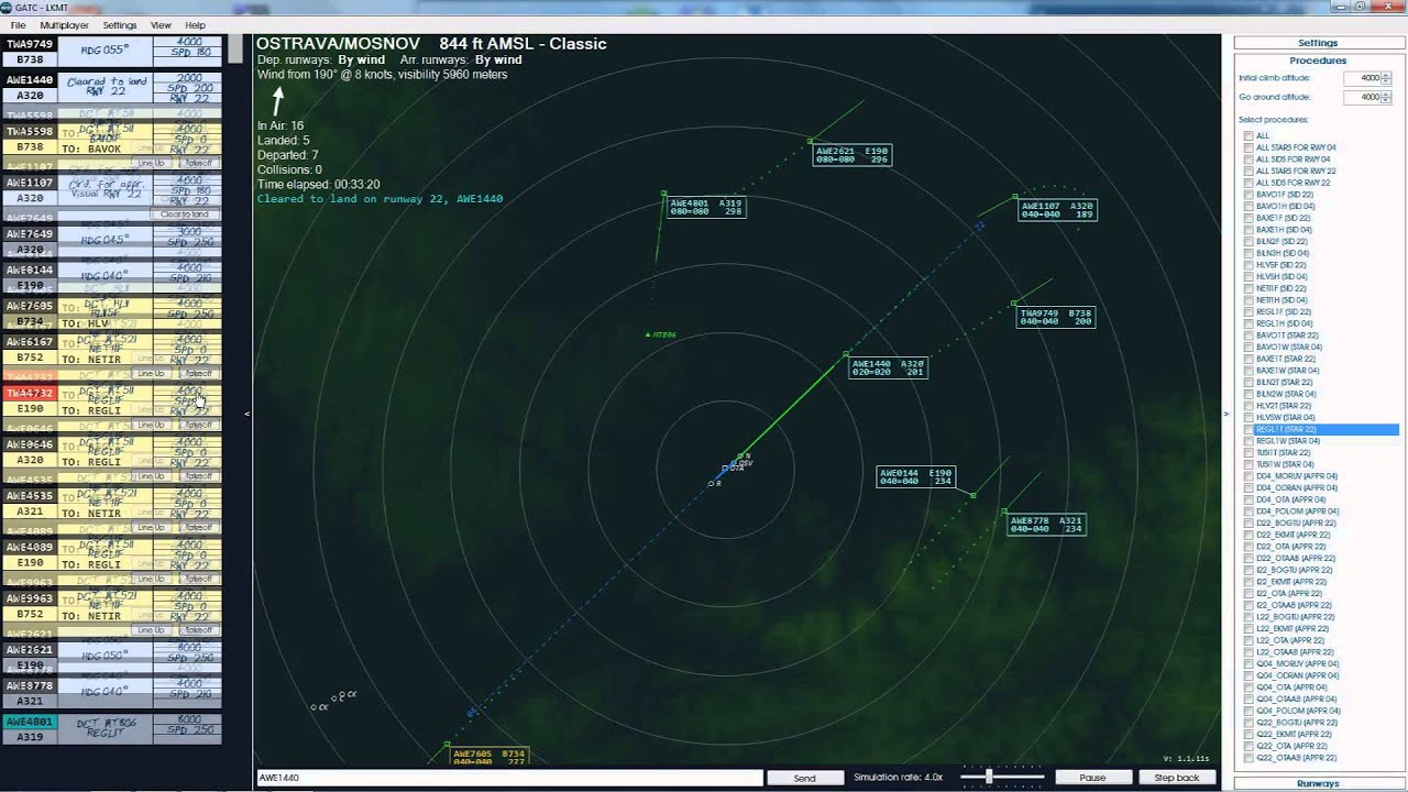 Global ATC Sim- Trying the otherside of Flying