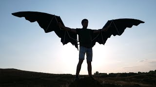 DIY Articulated Wings from PVC Pipes