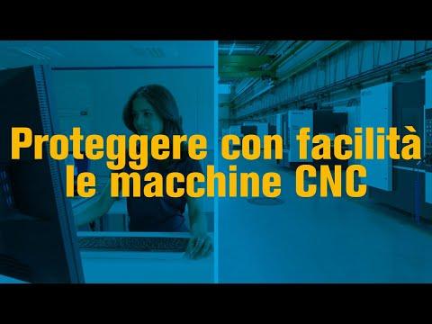 Come proteggere le vostre macchine CNC