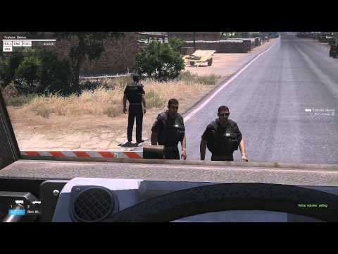 Arma 3 - Police Roleplay - DUI Checkpoint