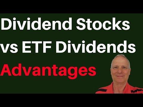 🔴Investing in Dividend Paying Stocks or ETF Dividend Funds Which is Best