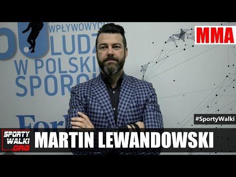 Martin Lewandowski: MMA stało się wpływową dyscypliną. Wideo