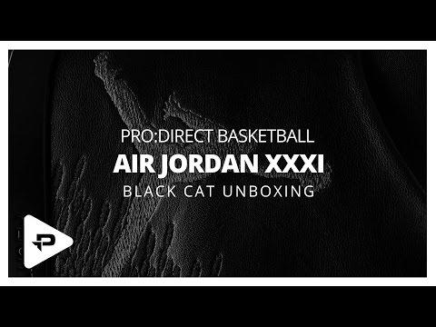 Air Jordan XXXI Black Cat Unboxing