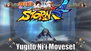 Naruto Shippuden | Ultimate Ninja Storm 4 | Yugito Ni'i (Two Tails Jinchuriki)「Moveset」 (Fixed)