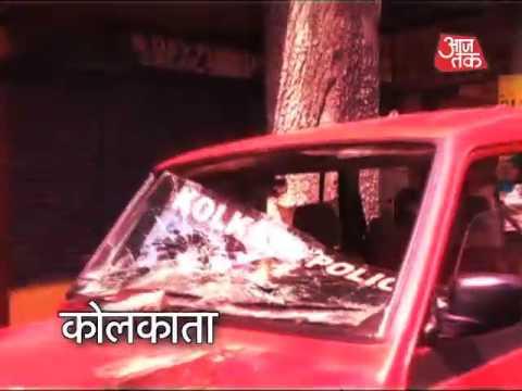 BJP Protests Against Mamata Banerjee Govt In Kolkata