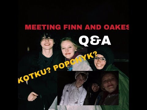 MEETING FINN WOLFHARD AND OAKES FEGLEY? On set of The Goldfinch  Q&A
