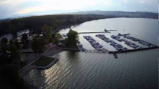Camping Avenches Plage avril 2017