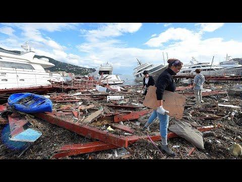 Media Europa sacudida por el temporal que deja once muertos en Italia