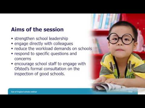 A webinar for schools in the East of England