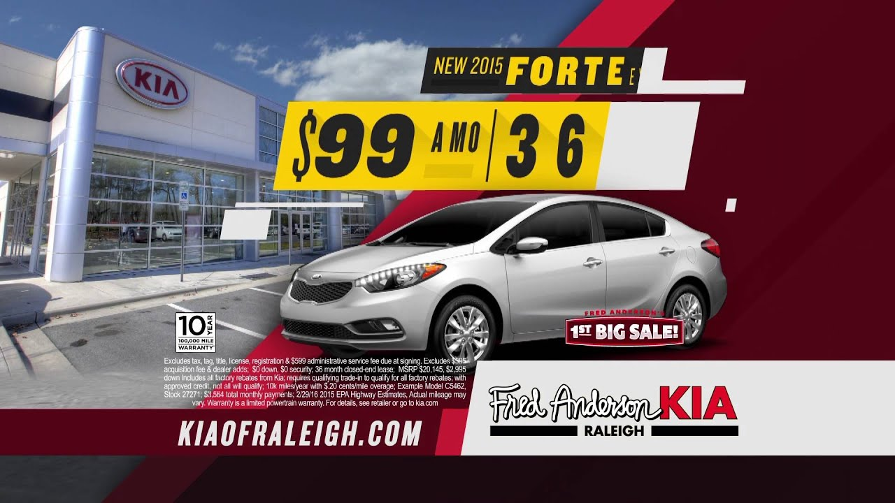 Fred Anderson Kia Raleigh First Big Sale Forte