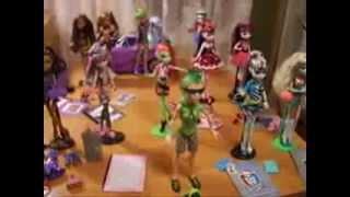 Обзор : На все мои куклы Монстр хай !(, 2013-08-25T20:55:23.000Z)